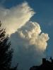Rozvíjející se cumulonimbus