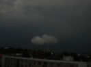 Stratus pod základnou cumulonimbu